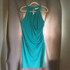 """New York and Company"" teal dress"